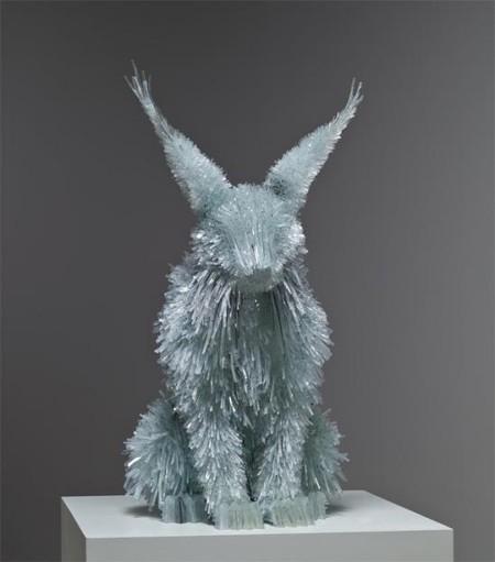 Скульптуры из битого стекла от Марты Клоновской — фото 5