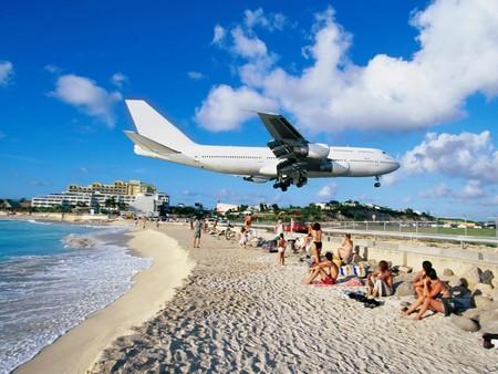 Картинка настоящая, самолет и его высота тоже