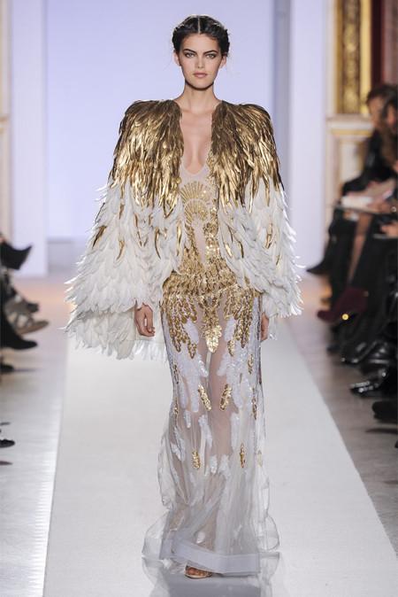 Весенняя коллекция 2013 роскошных платьев Zuhair Murad — фото 23