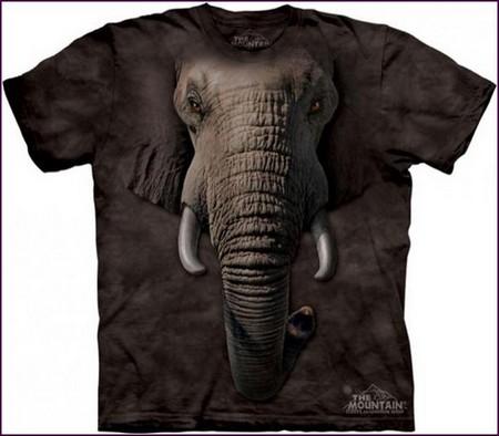 Настоящий звериный принт на футболках The Mountain — фото 1