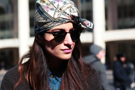 Тюрбаны и тюрбанчики – с чем носить и как завязывать — фото 46