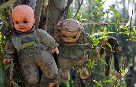 Остров кукол в Мексике – место не для детей — фото 15