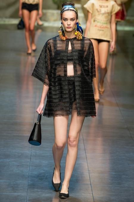 Сицилия от Dolce & Gabbana - женская коллекция весна-лето 2013 — фото 42