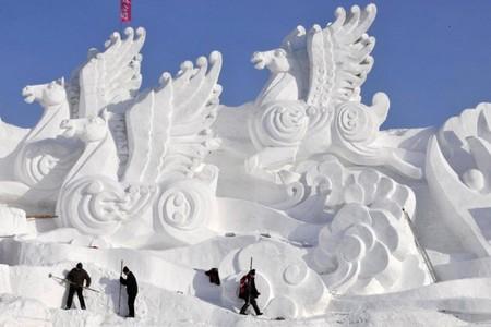 Снежные творения