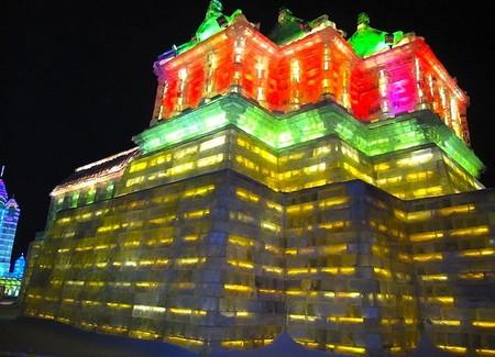 Фестиваль Ледяных дворцов в китайском Харбине – зимняя сказка — фото 21