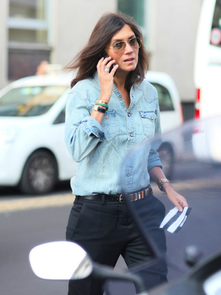 Ода джинсовой рубашке – сочиняем образы — фото 28