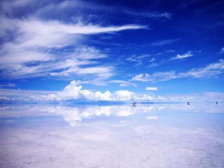 Уюни в Боливии – соляное озеро, соленый отель, фламинго и паровозы — фото 17