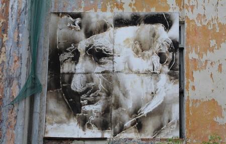 В память о ВОВ – лица, нарисованные огнем и «коктейлем Молотова». Проект T-Radya — фото 18