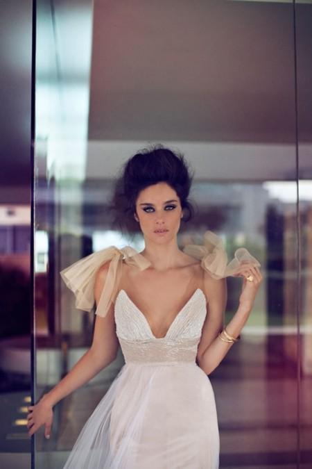 Свадебная коллекция Zahavit Tshuba – если хочется нежное и необычное платье — фото 11