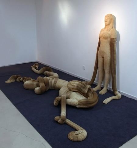 Гибкие скульптуры от Li Hongbo — фото 6