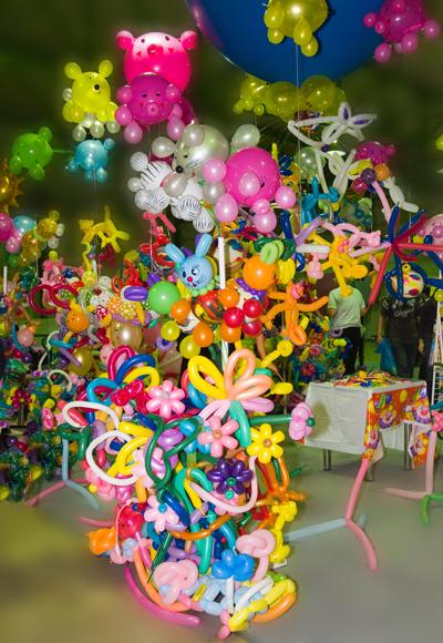 Твистинг – скульптуры из воздуха, или надувательство ))) Фигуры из воздушных шариков — фото 47