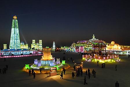 Фестиваль Ледяных дворцов в китайском Харбине – зимняя сказка — фото 7