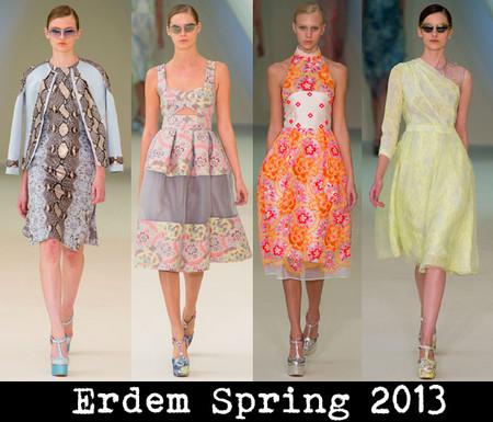 «Вкусная» коллекция от Erdem – весна-лето 2013 — фото 1