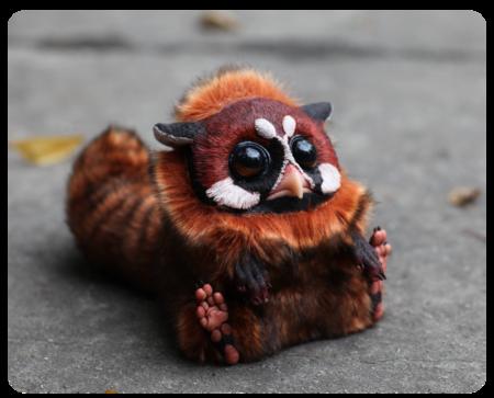 Милые монстры – игрушки Марии Santani — фото 41