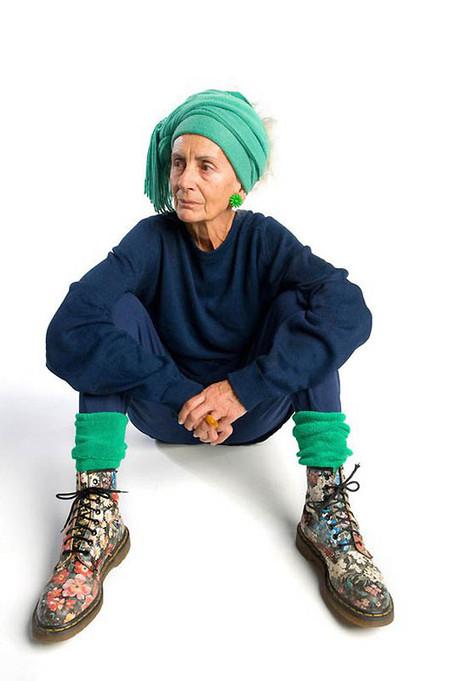 Вот так хотела бы я выглядеть в 80 лет! Или хотя бы в 70 ...