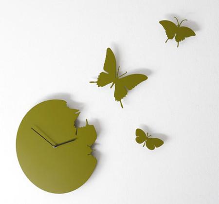 Что общего у времени и бабочек? Разгадка – в часах Butterfly clock — фото 2