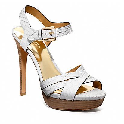 Коллекция обуви от Coach весна-лето 2013 – каблуки, платформа, мокасины, сандалии! — фото 17
