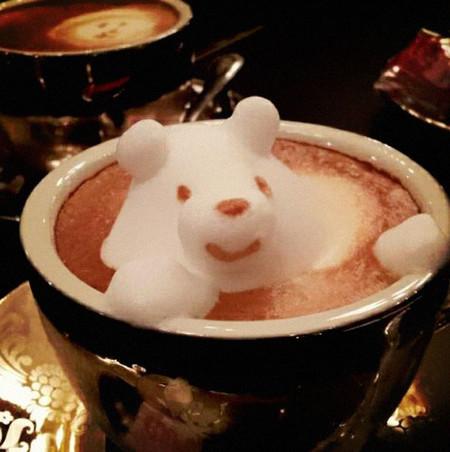 3D везде, даже в кофейной пенке! Продвинутый латте-арт от Kazuki Yamamoto — фото 10