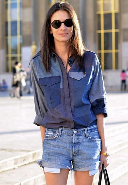 Ода джинсовой рубашке – сочиняем образы — фото 5