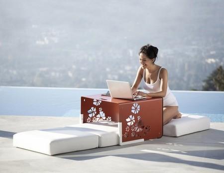 Кресло-трансформер KUBE Chair – для посидеть, полежать, перекусить — фото 5