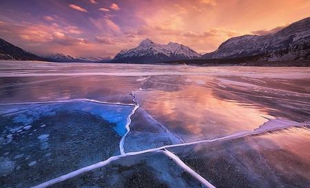 Как в заледеневшей сказке: озеро Авраама в Канаде — фото 4