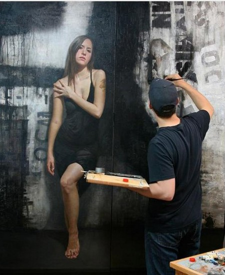 Стена в роли полотна – картины Дэвида Джона Кассана (David Jon Kassan) — фото 5