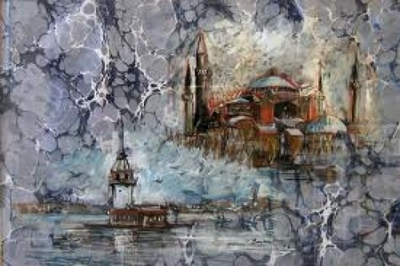 Эбру – нарисованные на воде фантазии — фото 25