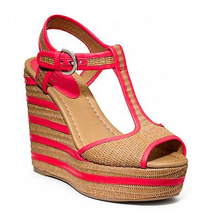 Коллекция обуви от Coach весна-лето 2013 – каблуки, платформа, мокасины, сандалии! — фото 27