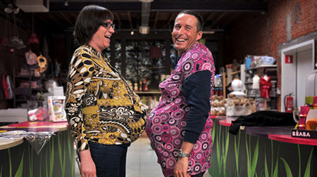 Уникальный симулятор Mommy Tummy – все радости беременности для папы! — фото 12