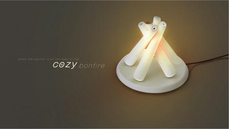 Уютный костер – теплый светильник Cozy bonfire — фото 5