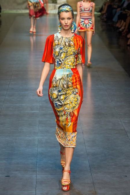 Сицилия от Dolce & Gabbana - женская коллекция весна-лето 2013 — фото 78