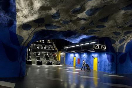 Метро, ради которого стоит приехать в Стокгольм! — фото 15
