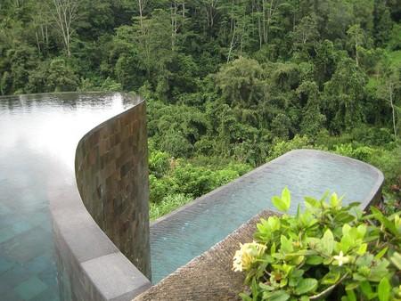 Бали, Ubud Hanging Gardens, двухуровневый инфинити
