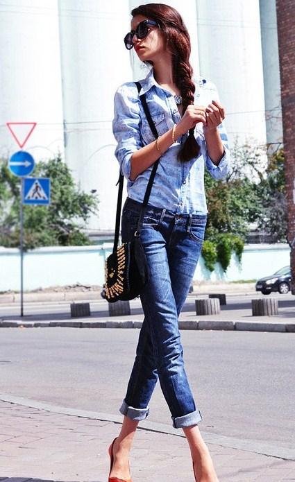 Ода джинсовой рубашке – сочиняем образы — фото 2