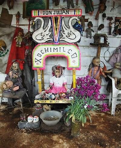 Остров кукол в Мексике – место не для детей — фото 27