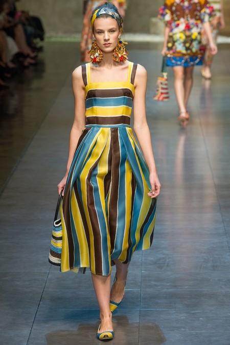 Сицилия от Dolce & Gabbana - женская коллекция весна-лето 2013 — фото 66