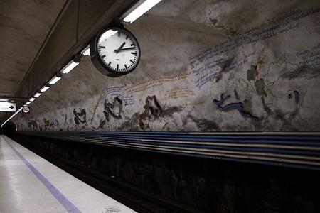 Метро, ради которого стоит приехать в Стокгольм! — фото 32