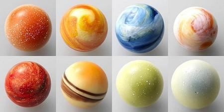 И снова конфеты-планеты. Шоколадный планетарий от L'éclat — фото 23