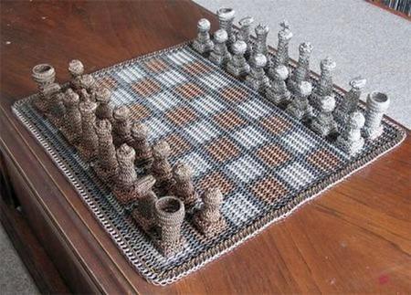 Вязаные шахматы