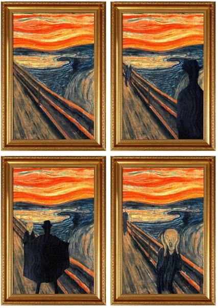 Картина Эдварда Мунка «Крик» - фантазии рекламщиков и других — фото 9