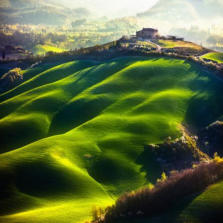 Туманные пейзажи на красивых снимках Богуслава Стремпеля — фото 25