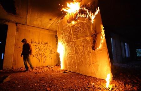 В память о ВОВ – лица, нарисованные огнем и «коктейлем Молотова». Проект T-Radya — фото 11