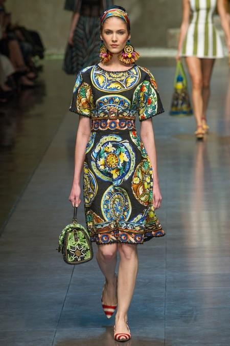 Сицилия от Dolce & Gabbana - женская коллекция весна-лето 2013 — фото 76