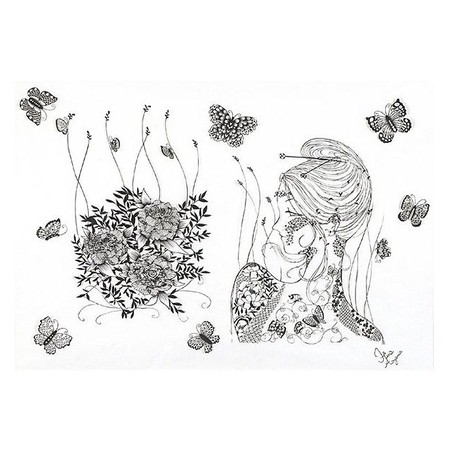Кружева из бумаги – ювелирные работы Хины Аоямы — фото 22