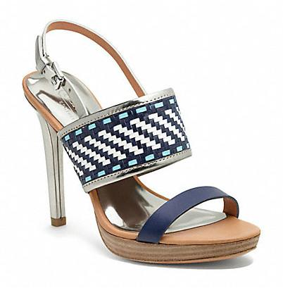 Коллекция обуви от Coach весна-лето 2013 – каблуки, платформа, мокасины, сандалии! — фото 13