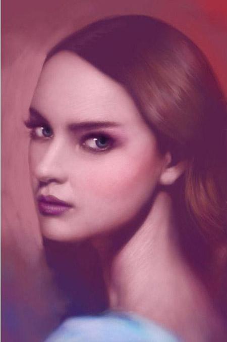 Сенсорные портреты – рисунки Сейко Ямаока на экранах iPod Touch и iPad — фото 5