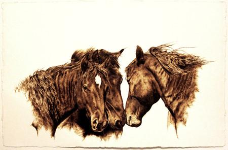 Пирография – горячая живопись Джулии Бендер — фото 10
