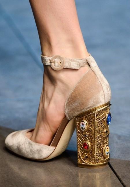 Dolce & Gabbana осень-зима 2013-2014 – когда всего слишком много — фото 116