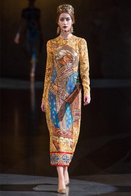 Dolce & Gabbana осень-зима 2013-2014 – когда всего слишком много — фото 6