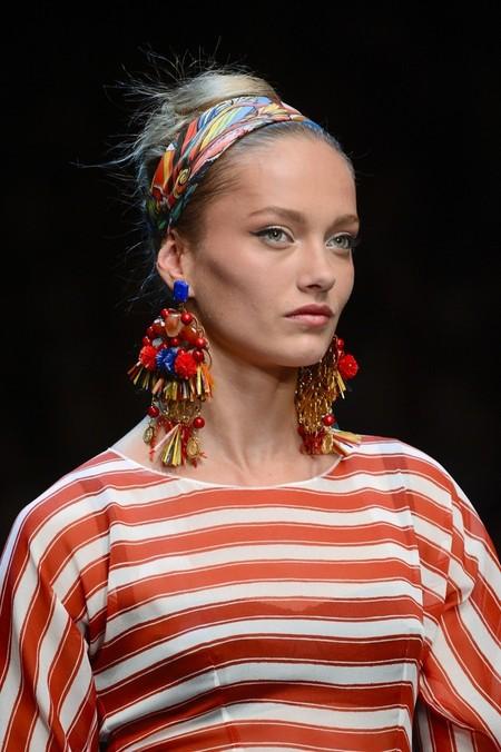 Сицилия от Dolce & Gabbana - женская коллекция весна-лето 2013 — фото 90